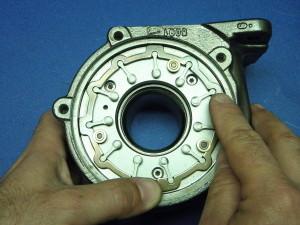 Calibración de la Geometría del turbo para un optimo funcionamiento del mismo.